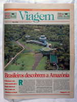 Zero Hora Newspaper:<br />Article about the Amazon.