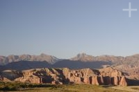 "The sedimentary rock formations known as ""Los Castillos"" (The Castles), Calchaquí valley near Cafayate, province of Salta, Argentina"