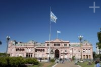 The 'Casa Rosada', the president's residence, Buenos Aires, Argentina